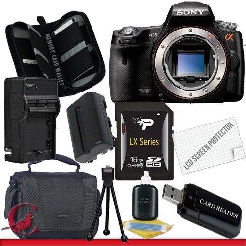 Purchase Cheap Sony SLT-A35 Alpha 35 DSLR Digital Camera (Body Only) Package 2 Cheap product