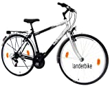 "LANDER Herren Trekking Fahrrad 28"" Zoll (=71,1cm) 18 Gang Shimano StVZO"