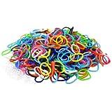 Viskey 600 Loom Rubber Bands Bracelet Making Clips Tools Children Games Plastic Storage Box