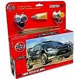 Airfix A55302 Ford Fiesta WRC 1:32 Scale Model Large Starter Set