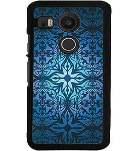 ColourCraft Beautiful Pattern Design Back Case Cover for LG GOOGLE NEXUS 5X