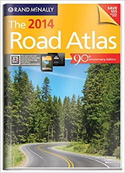 Download Rand McNally 2014 Gift Road Atlas (with protective cover) (Rand Mcnally Road Atlas United States/ Canada/Mexico (Vinyl Covered Edition)) ebook