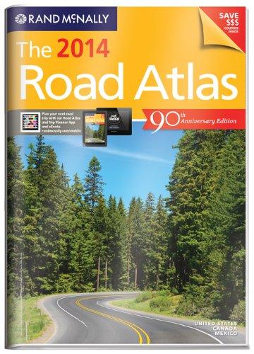 Rand McNally 2014 Gift Road Atlas (with protective cover) (Rand Mcnally Road Atlas United States/ Canada/Mexico (Vinyl C