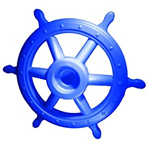 Shed & Playset Products Pirate Captains Blue Wheel Swingset Accessory Steering Wheel Large at Sears.com