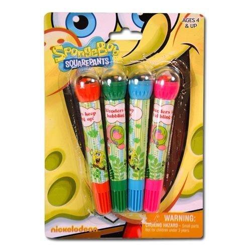 SpongeBob Squarepants 4pk Roller Stamp & Marker on Blister Card