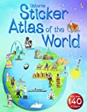 Cover of Usborne Sticker Atlas of the World by S.R. Turnbull Fiona Patchett 0746062699