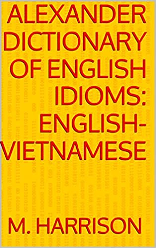 Alexander dictionary English Vietnamese, Kindle, Electronic, Digital Online
