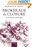 Brokerage and Closure: An Introduction to Social Capital (Clarendon Lectures in Management Studies)