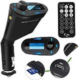 SODIAL(TM) Kit de voiture Lecteur mp3 & Transmetteur FM sans fil & Modulateur USB & Slot SD MMC avec tšŠlšŠcommande