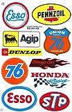 Sponsor Motocross Racing Tuning Motorbike Decal Sticker Sheet C214