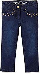 Nautica Kids Girls' Jeans (34G02D401_Academy Wash_06)