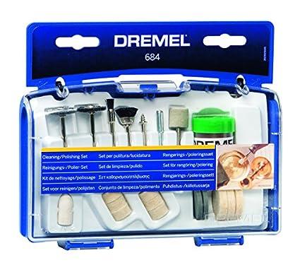 Bosch Dremel 2615.068.4JA 081 Cleaning Polishing Set