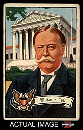 1956 Topps U.S. Presidents # 29 William H. Taft (Card) Dean's Cards 2