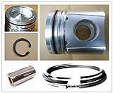 Piston set 4955190(114mm*135) Cummins diesel engine parts(OEM) QSL 8.9L