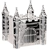 Christening Gifts. Silver Plated Castle Money Box