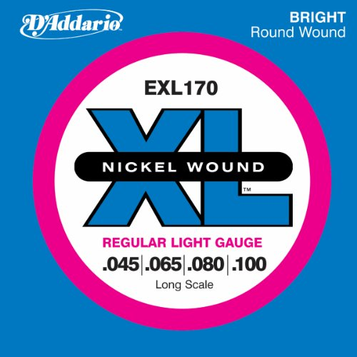D'Addario EXL170 Nickel Wound Bass Guitar Strings,