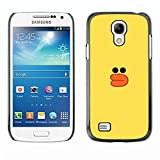 Hard Protective Case Cover Slim Smartphone Shell for Samsung Galaxy S4 Mini i9190 MINI VERSION Business Style yellow duck bath toy kids drawing