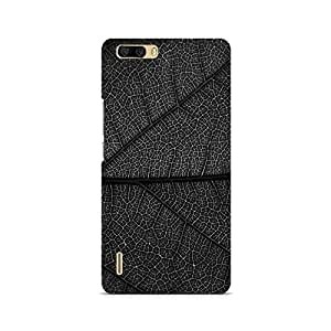 Motivatebox- Burnt Leaf Premium Printed Case For Huawei Honor 6 Plus -Matte Polycarbonate 3D Hard case Mobile Cell Phone Protective BACK CASE COVER. Hard Shockproof Scratch-