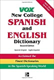 img - for Vox New College Spanish and English Dictionary (VOX Dictionary Series) book / textbook / text book