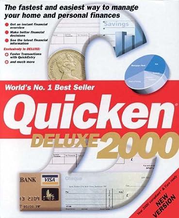 Quicken 2000 Deluxe