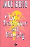 echange, troc Jane Green, Marianne Bertrand - Le bonheur est simple