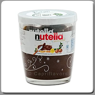 Amazon.com: Ferrero Nutella Made in Italy - 7 Oz Glass Decorated Jar