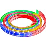 LightShow Christmas Flex Tech Light Set - Multi-Colored 108 LED's 12.5 ft.