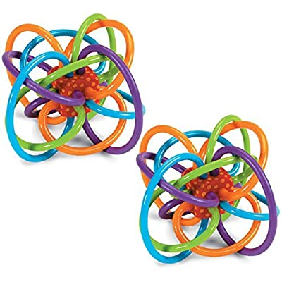 3 X Manhattan Toy Winkel Baby Activity Toy - 2 Pack by Manhattan Toys