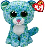 Ty - Ty36742 - Peluche - Beanie Boo's - Leona Le Leopard