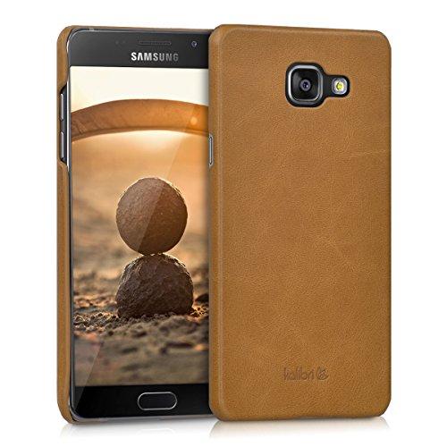 kalibri-Backcover-Hlle-aus-Echtleder-fr-Samsung-Galaxy-A5-2016-in-Cognac