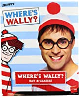 Smiffys Where's Wally Instant Kit with Hat and Glasses