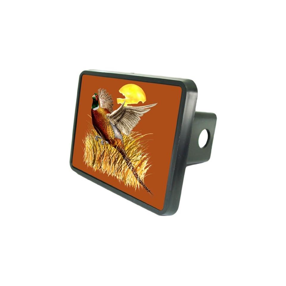 Pheasant Hunt Custom Hitch Plug for 2 receiver from Redeye Laserworks