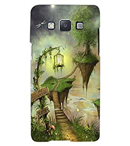 ColourCraft Beautiful Image Design Back Case Cover for SAMSUNG GALAXY A8