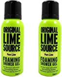 2x Orignal Lime Source Pure Lime Foaming Shower Gel 75ml