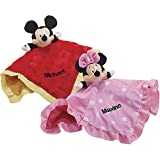 Disney Baby Snuggle Lovey - Minnie Mouse