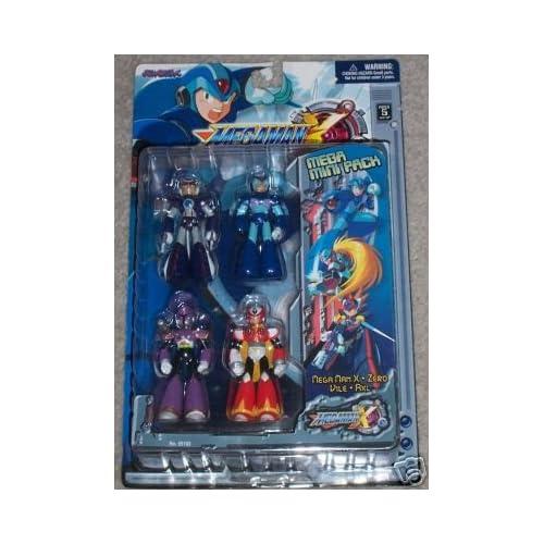Amazon.com: Mega Man X - Mega Mini Pack of 4 Action Figures
