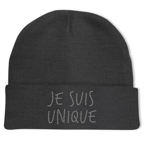 25dfb56a41a0 Bubble   Co - Bonnet Je suis unique - Gris