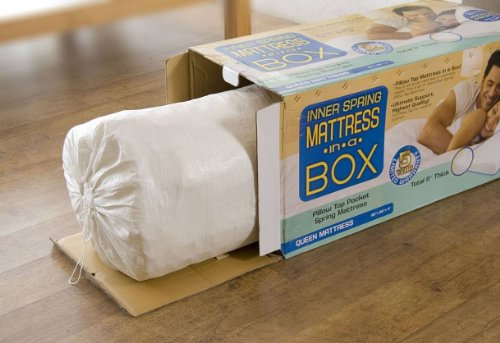 Textrade USA Inner Spring Pillow Top Mattress in A Box