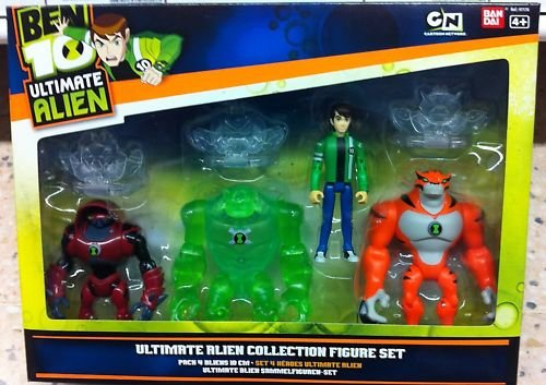 Picture of Bandai Ben 10 Ultimate Alien Collection Figure Set (B004MSVFLE) (Ben 10 Action Figures)