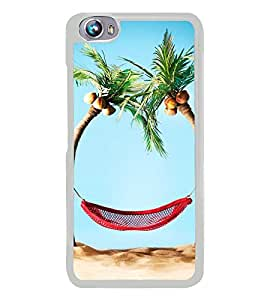 Beach Holidays 2D Hard Polycarbonate Designer Back Case Cover for Micromax Canvas Fire 4 A107