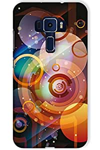 IndiaRangDe Case For Asus ZenFone 3 Deluxe ZE570KL Printed Back Cover