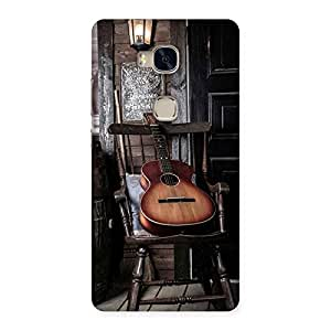 Ajay Enterprises Old Guitar On Chair Back Case Cover for Huawei Honor 5X