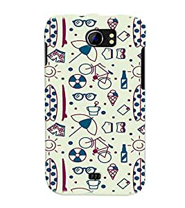 PRINTVISA Quotes Apple Case Cover for Micromax A110 Canvas 2