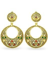 Big Tree Ethnic Brass Golden & Dangle & Drop Earring For Women