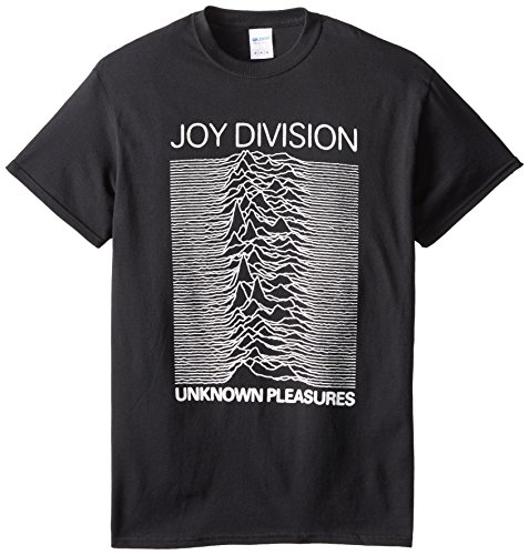 Joy Division Unknown Pleasures Adult T-Shirt, Size: