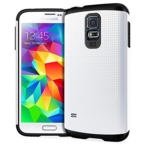 Galaxy S5 Case, Phone Champs Slim Hybrid Case for Galaxy S5