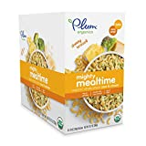Plum Organics Tots Mighty Mealtime Mac & Cheese, Cheesy Broccoli, 1.19 Ounce (Pack of 9)