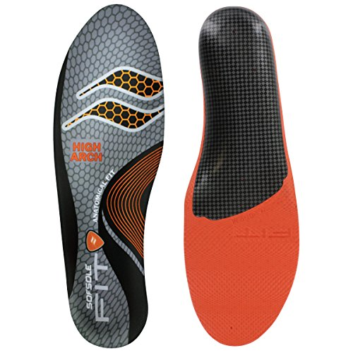 Sof Sole Fit Performance Shoe Insole, High Arch, Women's 13-14/Men's 11-12 (Lake Winter Cycling Shoes compare prices)