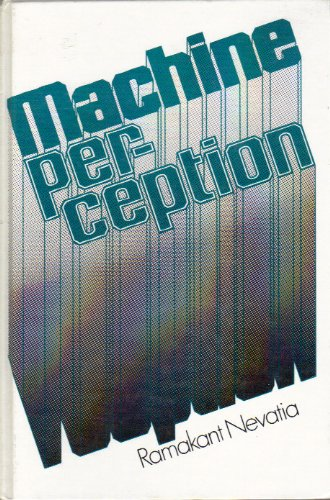 Large book cover: Machine Perception