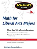 Schaums Outline of Mathematics for Liberal Arts Majors (Schaums Outlines)